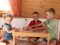 Spielecke im der Ferienwohnung am Brombachsee