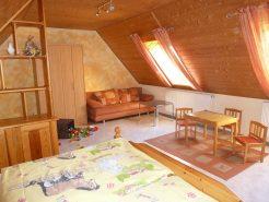 Kinderzimmer in der FeWo Eichhörnchen